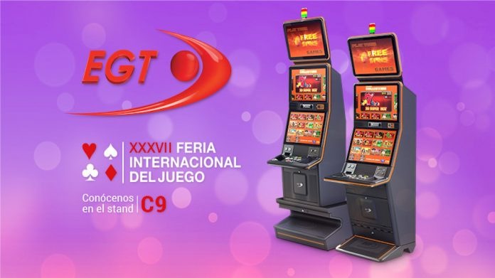 EGT, Fer-Interazar, madrid, gaming, cabinets