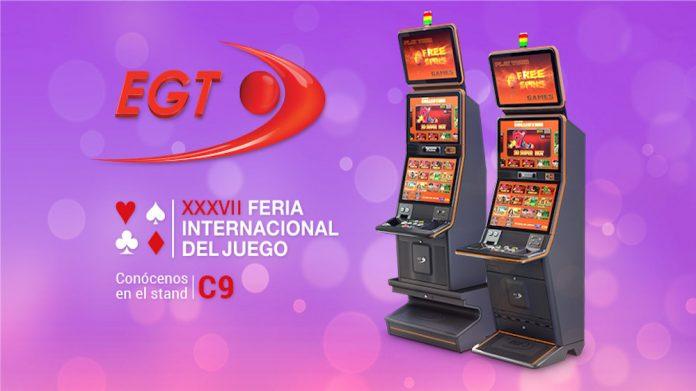 EGT, Fer-Interazar, madrid, gaming, cabinets