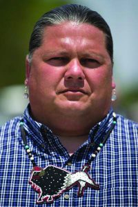 Ponca Tribal Chairman Larry Wright