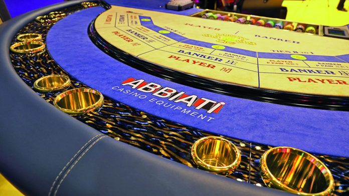 Abbiati Baccarat Table G2E Asia