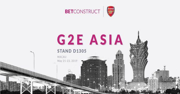 BETCONSTRUCT G2E ASIA