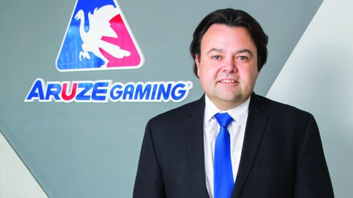 Aruze Gaming Africa General ManagerRiaan Swart