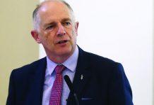 David Stanton Junior Justice Minister Ireland gambling regulator