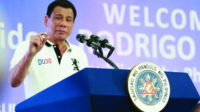 Rodrigo Duterte Philippines casino stance