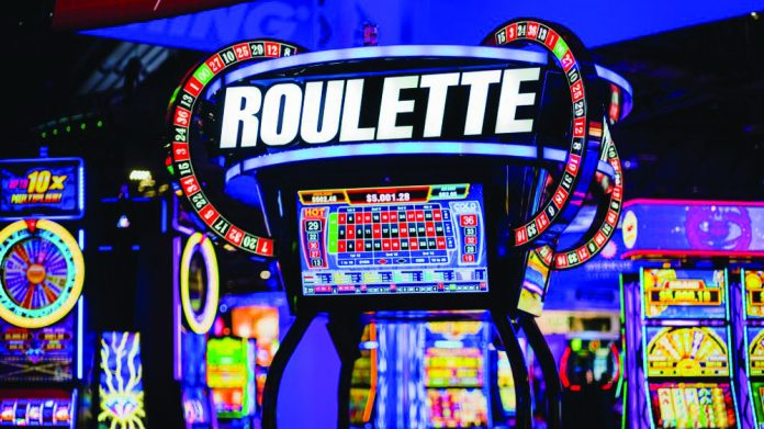 Aruze Gaming Lucky Roulette