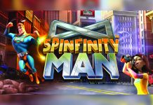 Betsoft Gaming Spinfinity Man