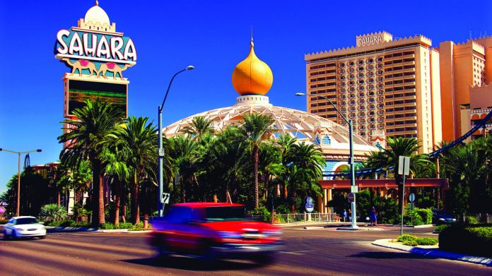 SLS Las Vegas rebranding Sahara