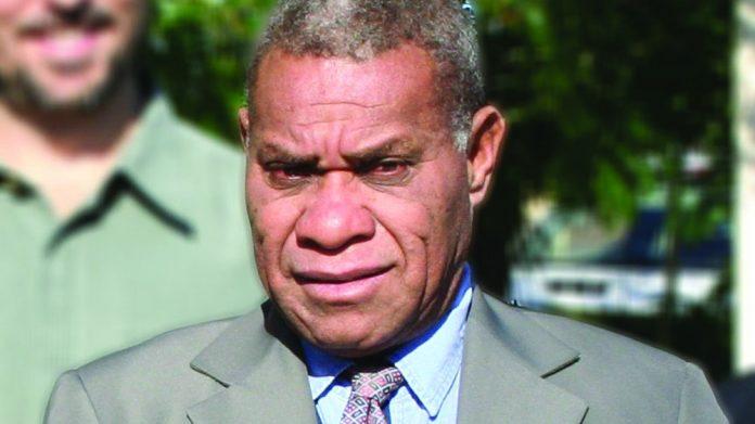 Vanuatu deputy PM Bob Loughman