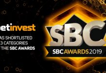 Betinvest SBC awards categories