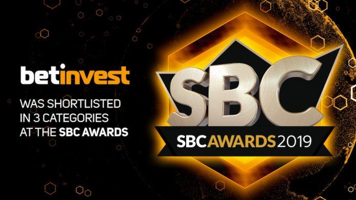 Betinvest SBC awards categories