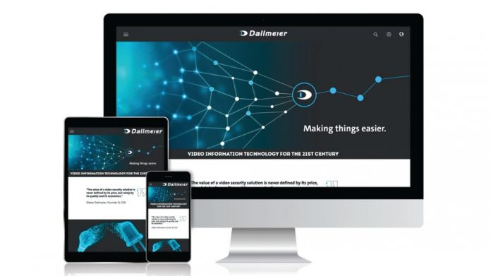 Dallmeier Electronic website launch