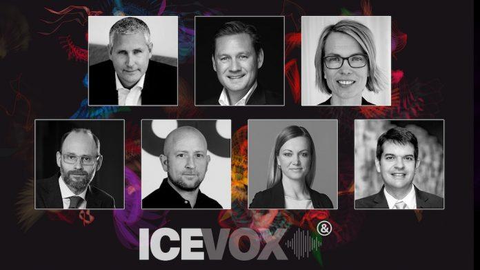 ICE VOX c-level speakers diversity