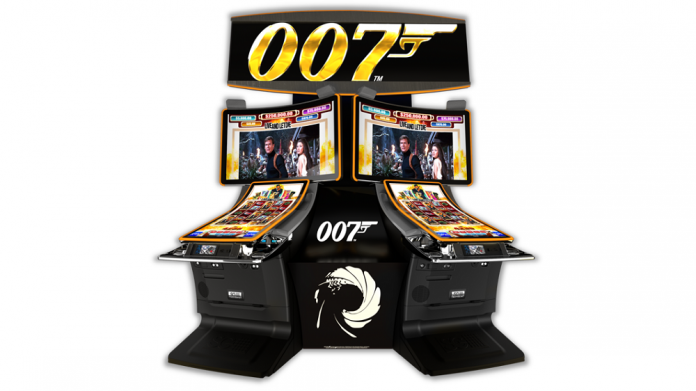 scientific games james bond