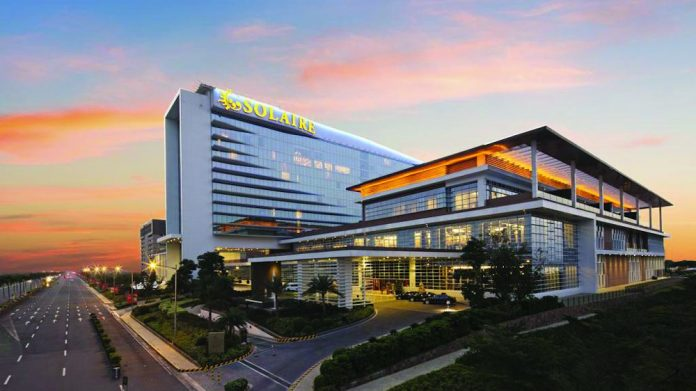 Solaire Resort Asia scientific games