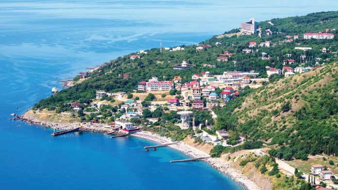 Russia land-based casino gambling industry Golden Coast crimea russia