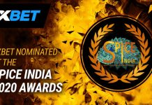 1xBet SPICE India Awards 2020