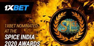 1xBet SPICE India Awards 2020