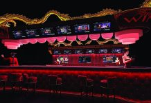 TVBet's casino market betting bar