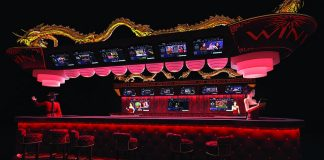 TVBet's casino market betting bar