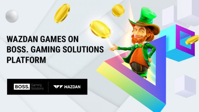 BOSS. Gaming Solutions and Wazdan Partnership