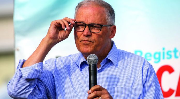 Sports betting Washington Jay Inslee