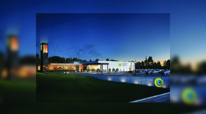 Cascades Casino Ontario construction on hold