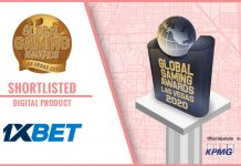 1xBet shortlisted award