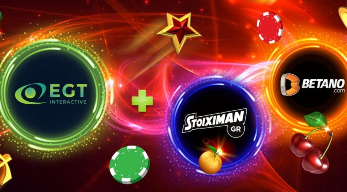 EGT Interactive Betano Stoiximan Partnership