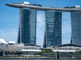 Singapore Marina Bay Sands reopen