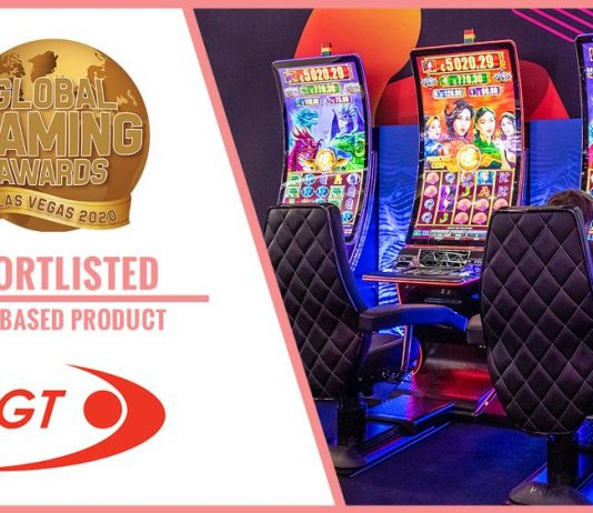 EGT Global Gaming awards G 55C VIP
