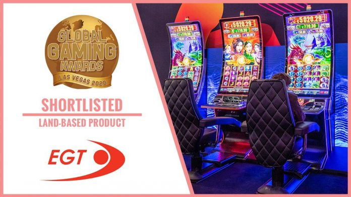 EGT Global Gaming awards G 55C VIP