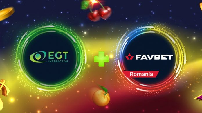 EGT Interactive FavBet partnership