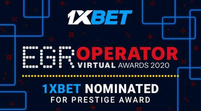 1xBet EGR operator awards