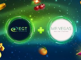 EGT Interactive Videoslots partnership extended MrVegas Casino
