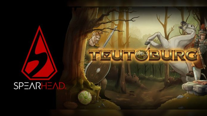 Spearhead Studios Video slot Teutoburg