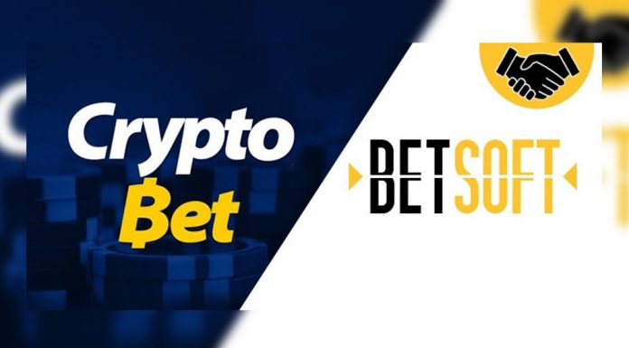 Betsoft Gaming CryptoBet partnership