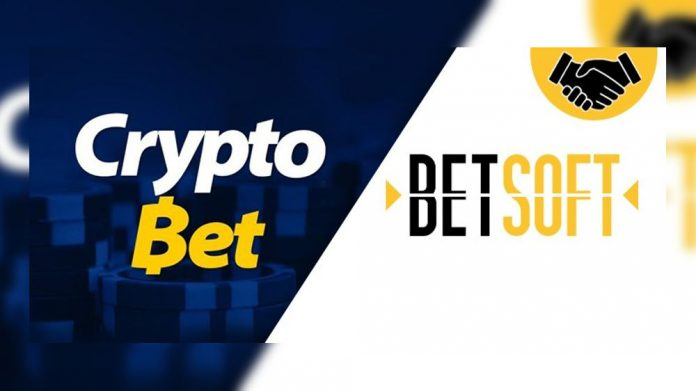 Betsoft Gaming CryptoBet partnership