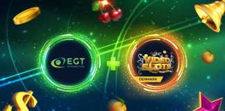 EGT Interactive partnership Videoslots