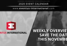Eventus International November events