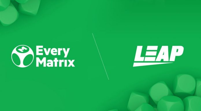 EveryMatrix Leap Gaming added to CasinoEngine Roster