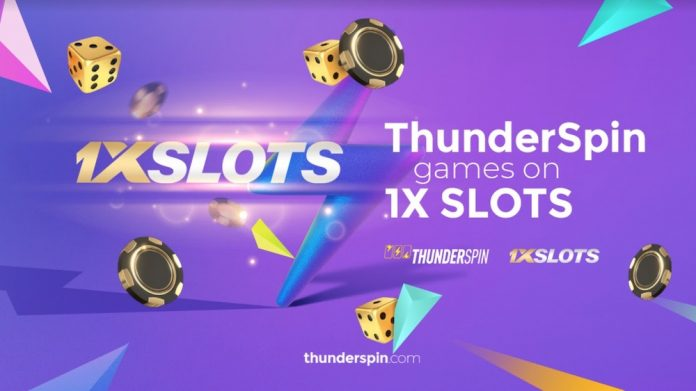 ThunderSpin partners with 1XSLOTS in a new collaboration