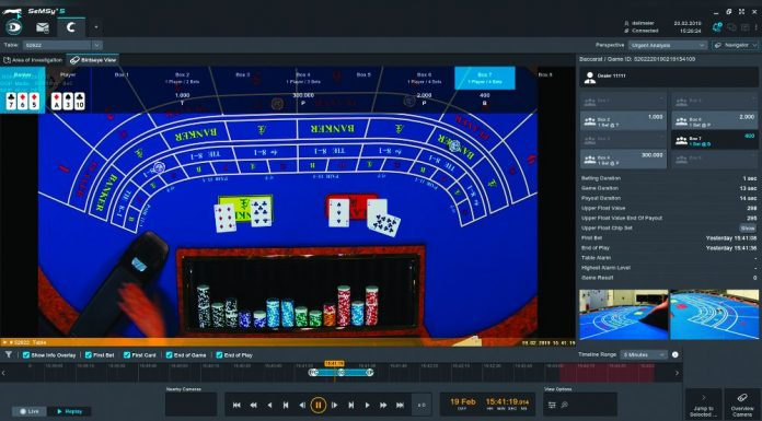 Dallmeier casino automation