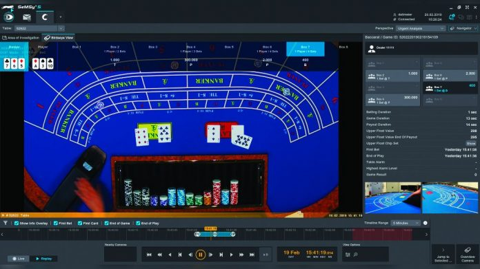 Dallmeier casino automation
