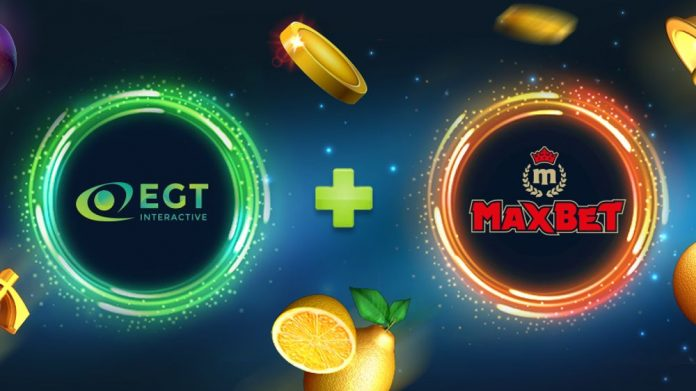 EGT Interactive MaxBet partnership