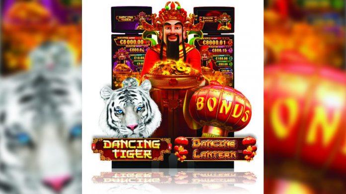 Novomatic Novo Line Dancing Tiger Dancing Lantern