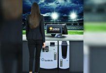 GeWeTe cash handling Cash-Desk Betting terminal