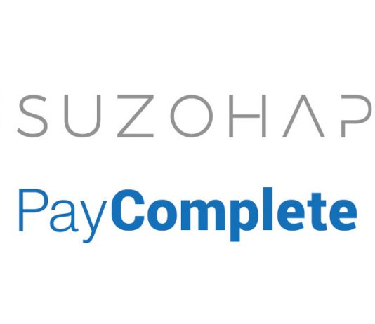 SUZOHAPP PayComplete logos