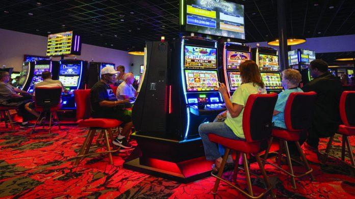 Ainsworth Historic Horse Racing installation Rosie's Gaming Emporium