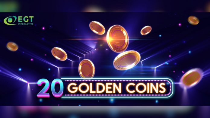 EGT Interactive 20 Golden Coins