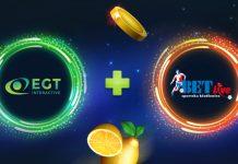 EGT Interactive Bet-Live partnership